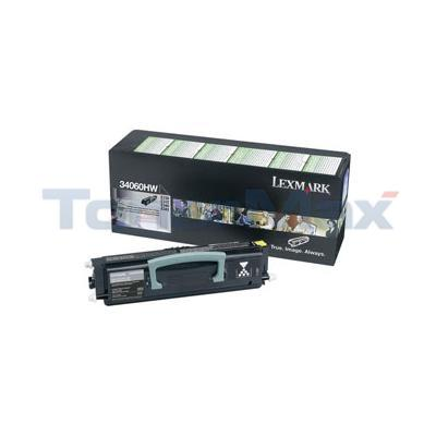 LEXMARK X850E RP TONER CARTRIDGE BLACK HY TAA
